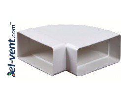Alkūnė horizontali EKO120-24/90, 60x120 mm, 90°
