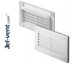 Вентиляционная решетка EKO120-30, 60x120 мм