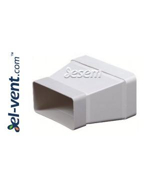 Plastikinio ortakio pereiga EKO-P-75-29, 55x110-75x150 mm