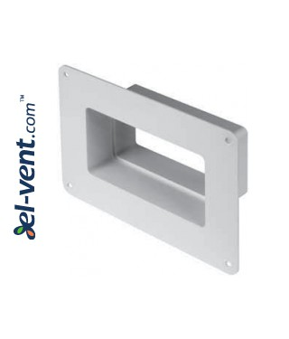 Wall duct adapter KPW, 60x120 mm