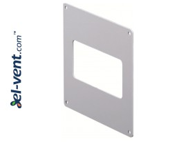 Sieninė jungtis ortakiui EKO120-27, 60x120 mm