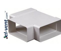T-piece EKO75-26, 75x150 mm