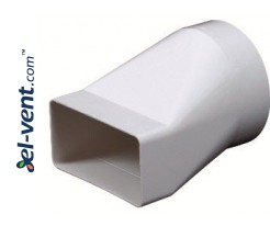 Reducer EKO120-20, Ø100x60x120 mm