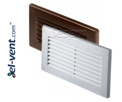 Vent cover for flat plastic duct EKO-P-55-30