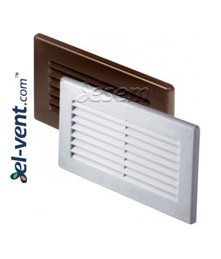 Vent cover for flat plastic duct EKO-P-30