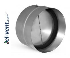 Backflow valve EAV125, Ø125 mm