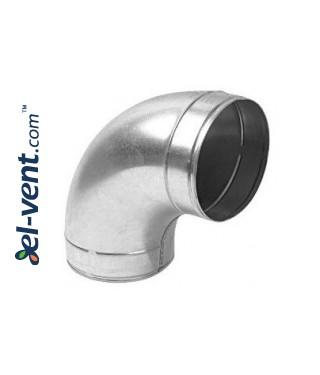 Elbow A160/90, Ø160 mm, 90°