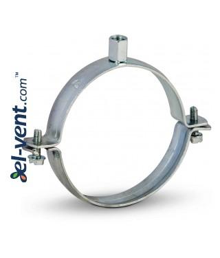 Pipe clamp (galvanised) EOL125, Ø125 mm