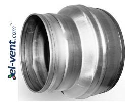 Pipe reducer ER125/100, Ø125-100 mm
