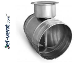 Air damper RSK125, Ø125 mm