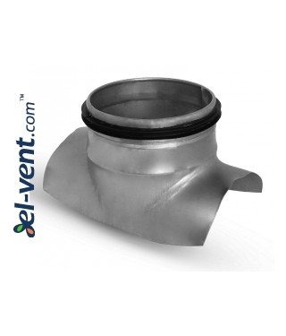 Pipe saddle tap EBAG160/080, Ø160-80 mm