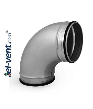 Elbow EAG160/90, Ø160 mm, 90°