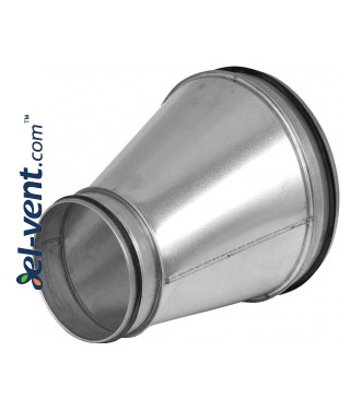 Asymmetric reducers for ducts ARG