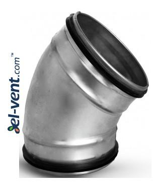Elbow EAG160/45, Ø160 mm, 45°