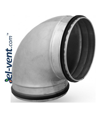 Elbow EAGT125/90, Ø125 mm, 90°