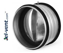 Backflow valve EAVG315, Ø315 mm