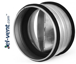 Backflow valve to mount inside the duct EAVGI125, Ø125 mm