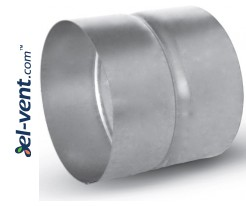 Couplings for vent fittings with gaskets