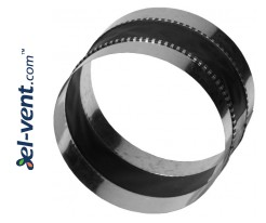 Flexible couplings for vent fittings with gaskets