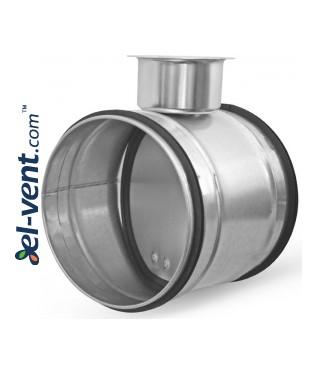 Airtight damper for ductwork RSKH100, Ø100 mm