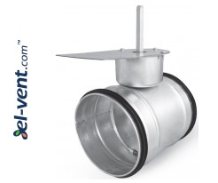 Air dampers for electric drives