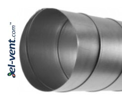 Spiral duct SKO400/3.0, Ø400 mm, L=3.0 m