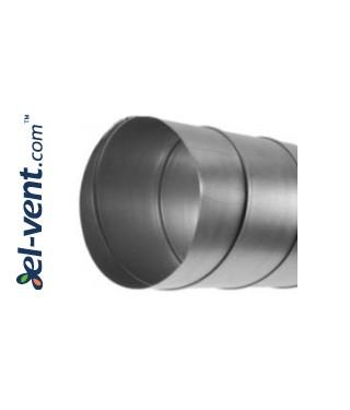 Spiral duct SKO160/1.5, Ø160 mm, L=1.5 m