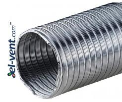 Flexible duct AF77, Ø250 mm, 1.5 m, 0.1 mm