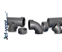 Expanded polypropylene ducts