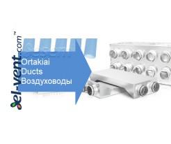 Semi-rigid HDPE ducts