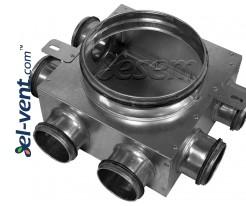 Air distributors for semi-rigid vent system OSD75