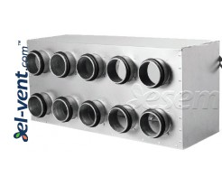 Air distributors for semi-rigid vent system OSG90
