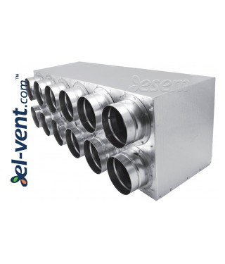 Air distributors for semi-rigid vent system OSG63