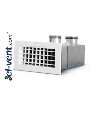 OSH distribution box with vent grilles