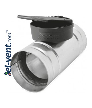 Air flow closing-control dampers RSK HDPE
