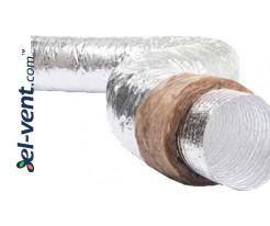 Izoliuotas ortakis SD-3-100-5, Ø100 mm, 5 m, 250 °C