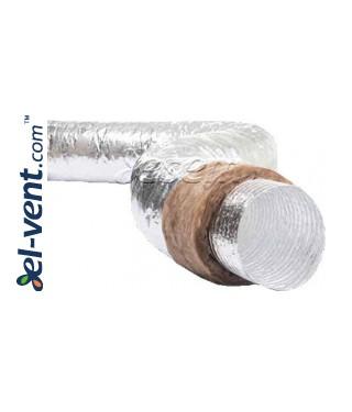 Изолированный гибкий воздуховод ISO-SD, 5 м, 250 °C