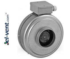 Duct fan DV100, Ø100 mm