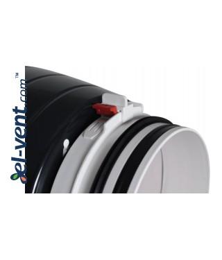 Quiet duct fan Silent150/160, Ø150-160 mm - connector