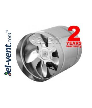 Ašiniai kanaliniai ventiliatoriai WK ≤915 m³/h