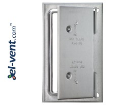 Insulated chimney access doors from inox 250x300 mm RDN250/300