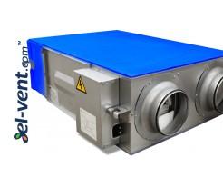 Heat and energy recovery unit ERGO650
