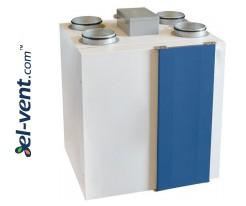 Heat recovery ventilators and units