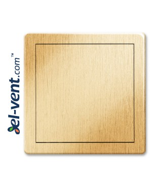 Access panel, gold colour EDT13ZL, 200x250 mm