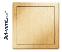 Access panel, gold colour EDT12ZL, 200x200 mm