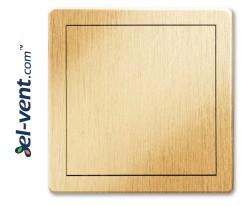 Access panel, gold colour EDT10ZL, 150x150 mm