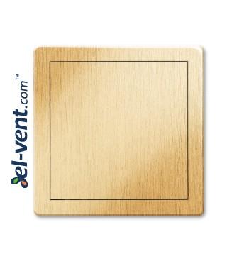 Access panel, gold colour EDT11ZL, 150x200 mm