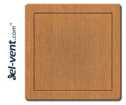 Access panel, oak colour EDT12D, 200x200 mm