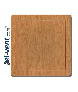 Access panel, oak colour EDT12D, 200x200 mm