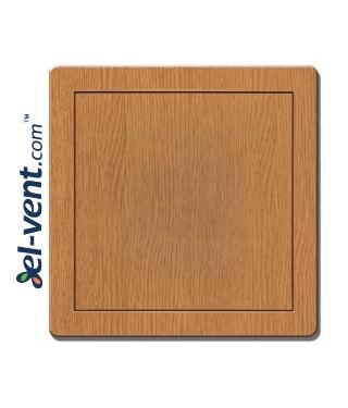 Access panel, oak colour EDT13D, 200x250 mm